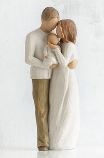 Willow Tree (R) Figure - Our Gift - 'Our bright, joyful gift!'