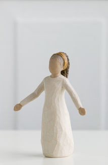 Willow Tree (R) Figure - Blessings -  'Each day, unexpected blessings'