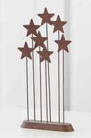 Willow Tree Nativity (R) - Metal Star Backdrop