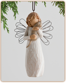 Willow Tree Nativity (R) - With affection Ornament - 'I love our friendship!'
