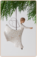 Willow Tree Nativity (R) - Dance of Life Ornament - 'Dancing... Twirling! The magical miracle of life'