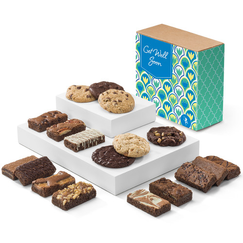 Gifts To Go Fairytale Brownies Get Well Cookie & Sprite Combo