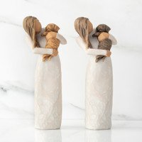 "Willow Tree (R) ""Adorable You"" at Gifts To Go.  Available with golden dog or dark dog."