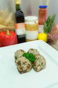 Organic Chicken Burgers with Figs Sage Pistachios