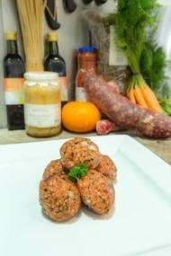 Gourmet Organic Beef Burgers