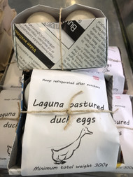 MUSCOVY DUCK EGGS-Laguna Pastured 330g