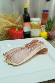 German Style Middle Bacon Rashers Natural Cure