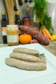 Pork and Porcini Mushroom Sausages