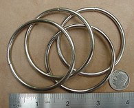 "STEEL 0-RINGS Rings Nickel Plate 2"" ID 50 pcs"