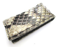 MAGNETIC MONEY CLIP GENUINE PYTHON SNAKE SKIN