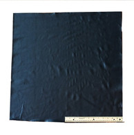 UPHOLSTERY LEATHER: BLACK COWHIDE, Light Weight, Grade A;  4 Square Feet