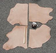 LEATHER SIDE VEG VEGETABLE TAN SPLIT Light Weight 4+ Square Feet