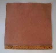"LEATHER SIDE PIECE VEG TAN SPLIT Light Weight 12"" X 12"" 1 Square Foot"