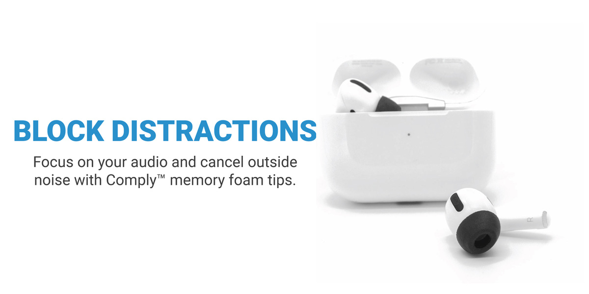 Noise Isolation Tips for Apple AirPods Pro