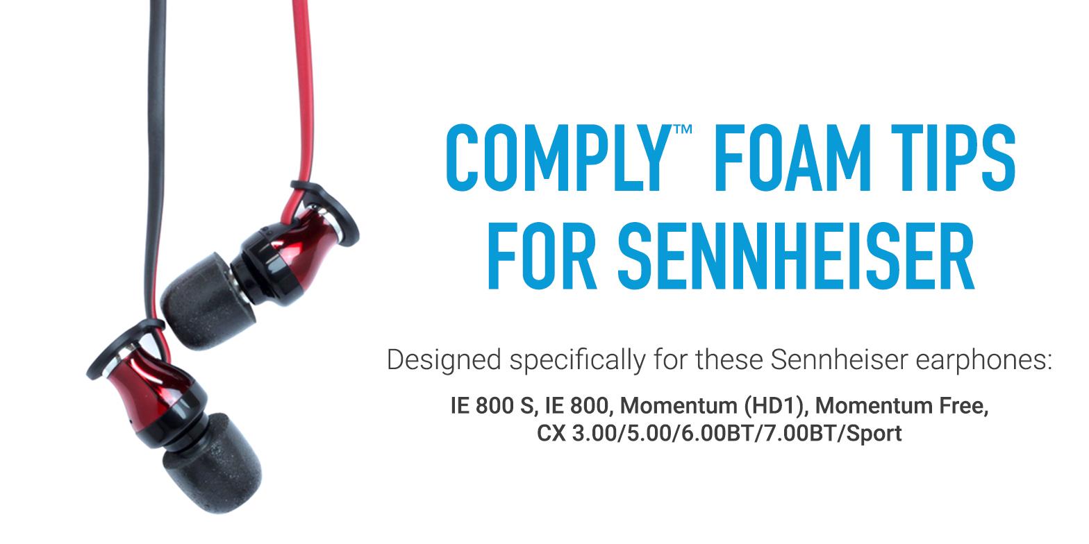 Comply Foam Tips for Sennheiser Headphones