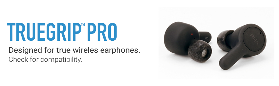 TrueGrip Pro Tips for Truly Wireless devices