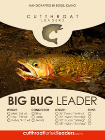 Cutthroat Furled Big Bug Leader