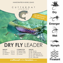 Cutthroat Dry Fly Shorty