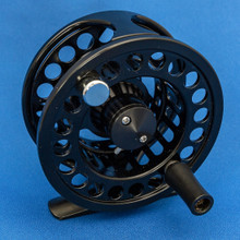 Large and Wide Arbour 3/4 weight Reel Front View