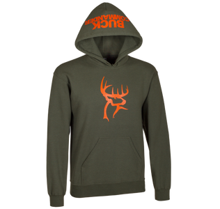 Moss and Orange Hoodie