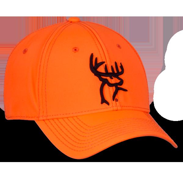 60364152 Orange A-Flex Fitted Hat - Buck Commander