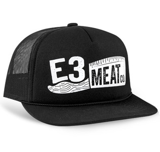 E3 Meat Co. Cleaver Richardson Trucker Hat