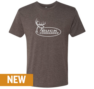 Buck Commander Brown Logo Shirt