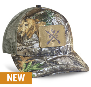 Buck Commander Realtree® EDGE Leather Patch Hat