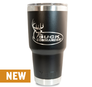 Buck Commander 30oz Black Yeti Rambler