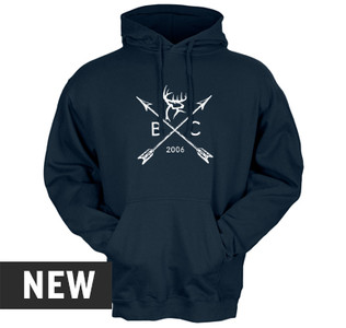 Buck Commander Arrow Badge Hoodie