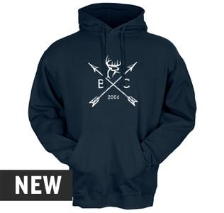 Buck Commander Arrow Badge Hoodie