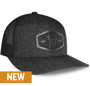Buck Commander x Union Standard Supply Co. Black Wood Patch Hat