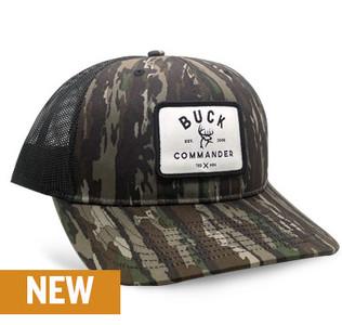 Buck Commander Realtree Original Richardson 112P White Patch Hat