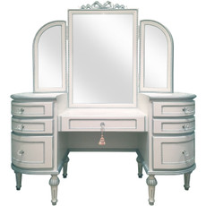 Princess Vanity w/Round Edges