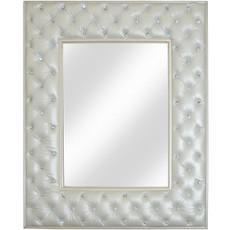 Crystal Tufted Mirror