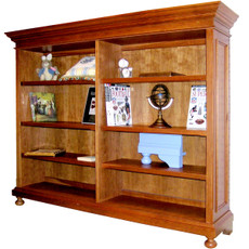 William Wide Bookcase