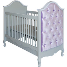 Belle Paris Upholstered Crib