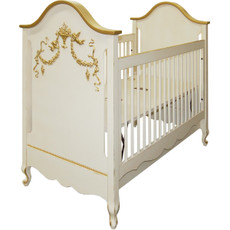 Belle Paris Crib - Gold
