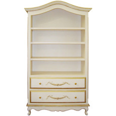 Belle Paris Bookcase w/Drawers
