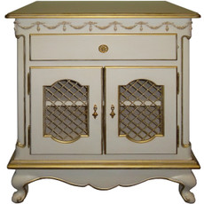 Belle Paris 2 Door Nightstand