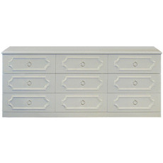 Regency 9 Drawer Dresser