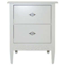 Swedish 2 Drawer Nightstand