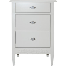 Swedish 3 Drawer Nightstand