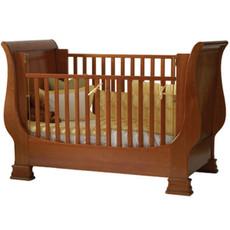 Louis Philippe Sleigh Crib