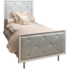 Jewels Bed Twin - Quilted with Diamonds