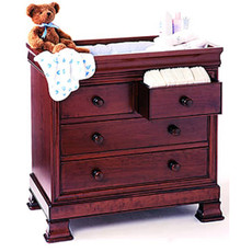 Louis Philippe Flip Top Changing Table