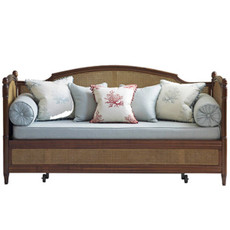 Mastinique Trundle Bed w/ Caning