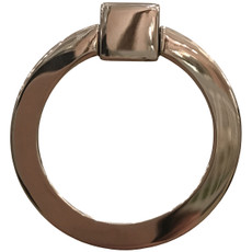 Polished Nickel Ring Pull