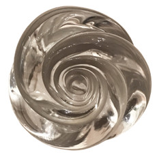 Murano Glass Rose Knob