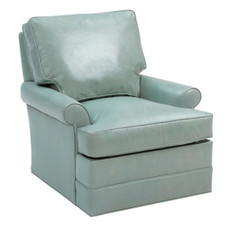 Stanton Swivel Glider - Leather
